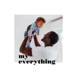 "My Everything 8x8"" Slim Photo Canvas Print, Home Décor White"