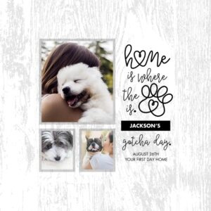 "Pet Person 8x8"" Slim Canvas Print, Home Décor White"
